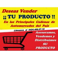 Deseas Vender y Distribuir su(s) Productos en las Principales Cadenas de Automercados del País,