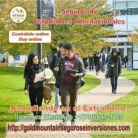International Students Insurance / Seguro de Estudiantes Internacionales